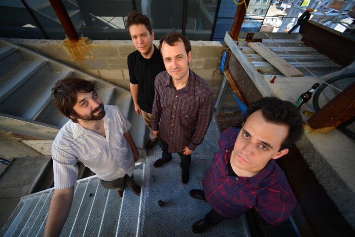 bio dither a new york based electric guitar quartet. Black Bedroom Furniture Sets. Home Design Ideas